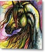 Rainbow Horse 2 Metal Print