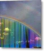 Rainbow Landscape Metal Print