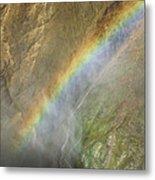 Rainbow Mist Metal Print
