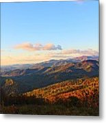 Rainbow Mountains Metal Print