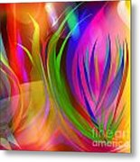 Rainbow Of Thoughts Metal Print