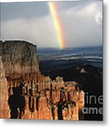 Rainbow Over  Bryce Canyon Metal Print