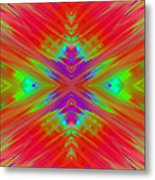Rainbow Passion Abstract 1 Metal Print