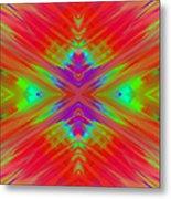 Rainbow Passion Abstract 2 Metal Print