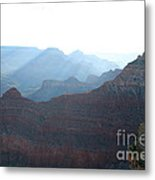 Rainbow Ridges Metal Print