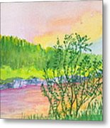 Rainbow River Metal Print