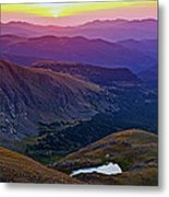Rainbow Sunrise Metal Print