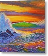 Rainbow Sunset IIi Metal Print