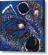 Rainbow Trout Detail A Metal Print