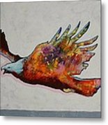 Rainbow Warrior Flying Eagle Metal Print