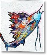 Rainbow Warrior - Sailfish Metal Print