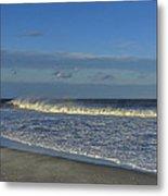 Rainbow Wave Seaside New Jersey Metal Print
