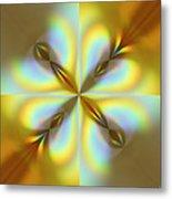 Rainbows Abstract Metal Print