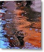 Raindrops 29412 Metal Print
