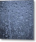 Raindrops On Window I Metal Print