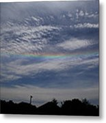 Rainless Rainbow Metal Print