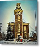 Raintree County Courthouse Metal Print