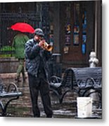 Rainy Day Blues New Orleans Metal Print