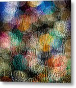 Rainy Day Christmas Metal Print