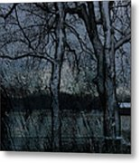 Rainy Days And Mondays- Feature-barns Big And Small-visions Of The Night-photography And Textures Metal Print