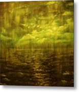 Rainy Night Over Norway-original Sold-buy Giclee Print Nr 20 Of Limited Edition Of 40 Prints Metal Print