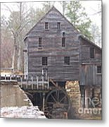 Rainy Yates Mill Metal Print by Kevin Croitz