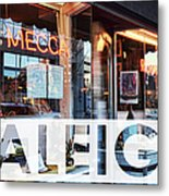 Raleigh At The Mecca Metal Print