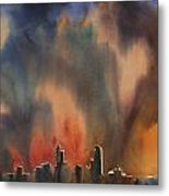 Raleigh Thunderstorm Metal Print