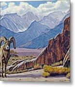 Ram-eastern Sierra Metal Print