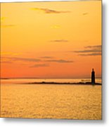 Ram Island Light Casco Bay Maine Metal Print