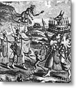 Rama, Seventh Avatar Of Vishnu Metal Print