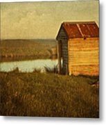 Ramshackle Metal Print by Amy Weiss