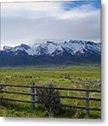Ranch Beneath The Rubies Metal Print
