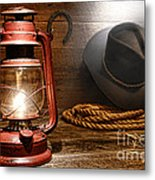 Ranch Light Metal Print