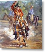 Ranch Rodeo Time Metal Print
