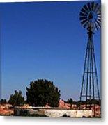 Ranch Windmill Metal Print