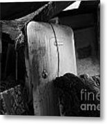 Ranchers House Black And White I Metal Print