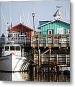 Randys Whale Watching And Fishing Trips Metal Print