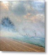 Range Burning Metal Print by JC Findley