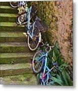 Range Of Bikes Metal Print