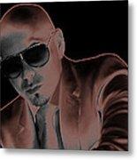 Rap Pitbull Metal Print