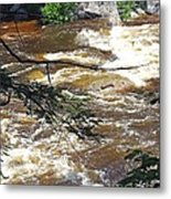Rapids Of The Swift River Kancamagus Hwy View White Mountains Nh Metal Print