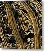 Raptured Saints Metal Print
