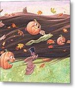 Rapunzel's Halloween Metal Print