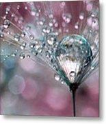 Rasberry Sparkles Metal Print