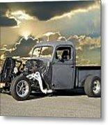 Rat Rod Drag Racer Metal Print