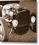 Rat Rod Metal Print