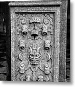 Rathaus Post 5 Metal Print