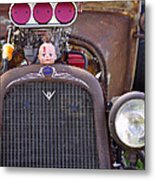 Ratrodded Out  Metal Print by Juls Adams