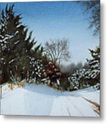 Rattlesnake Road Metal Print by Denny Dowdy